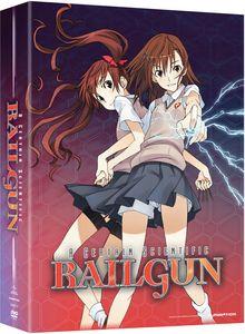 【送料無料】CERTAIN SCIENTIFIC RAILGUN 1 PT 1 (2PC) (アニメ輸入盤DVD)