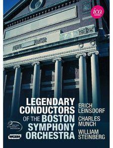 【送料無料】【0】BEETHOVEN/LEINSDORF/MUNCH/STEINBERG / LEGENDARY CONDUCTORS OF THE BSO (5PC) (輸入盤DVD)