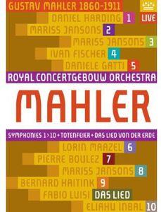 【送料無料】MAHLER/RCO/HARDING/JANSONS / SYMPHONIES 1-10/DAS LIED VON DER ERDE (11PC) (輸入盤DVD)