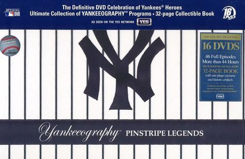 【送料無料】YANKEEOGRAPHY: PINSTRIPE LEGENDS (輸入盤DVD)