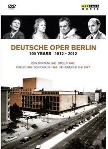 【送料無料】MOZART/FISCHER-DIESKAU/LUDWIG/MAAZEL / 100 YEARS 1912-2012 & DEUTSCHE OPER BERLIN (6PC) (輸入盤DVD)