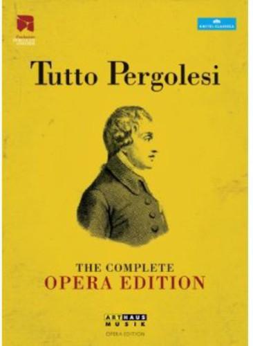 【送料無料】PERGOLESI/LOZANO/ACCADEMIA BAROCCA DE I / COMPLETE OPERA EDITION (12PC) (輸入盤DVD)