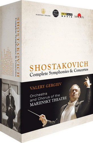 【送料無料】SHOSTAKOVICH/GERGIEV/ORCHESTRA & CHORUS OF THE / SHOSTAKOVICH CYCLE (8PC) (輸入盤DVD)