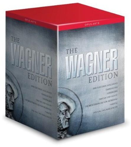 【送料無料】WAGNER/LONDON PHILHARMONIC ORCH/MCVICAR / WAGNER EDITION (25PC) (輸入盤DVD)
