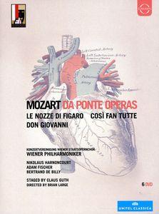 【送料無料】MOZART/VPO/HARNONCOURT/FISCHER/DE BILLY / DA PONTE OPERAS (6PC) (輸入盤DVD)