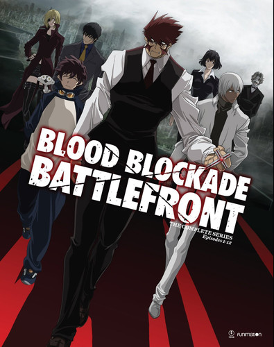 【送料無料】BLOOD BLOCKADE BATTLEFRONT: THE COMPLETE SERIES (アニメ輸入盤DVD)(2016/8/16)