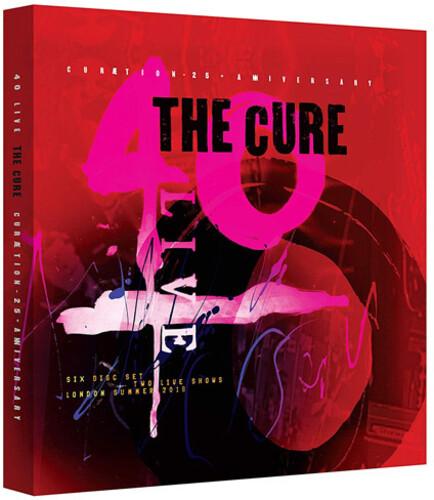 【輸入盤DVD】CURE / 40 LIVE CURAETION 25 + ANNIVERSARY (6PC) (W/CD) (キュア)