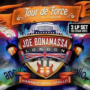 【送料無料】Joe Bonamassa / Tour De Force-Hammersmith Apollo (UK盤)【輸入盤LPレコード】(ジョー・ボナマッサ)