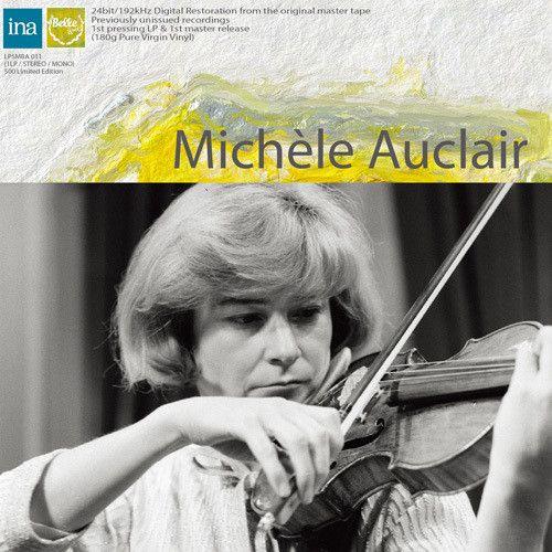 【輸入盤LPレコード】Michele Auclair / Works By Bartok & Saint-Saens【LP2017/9/15発売】