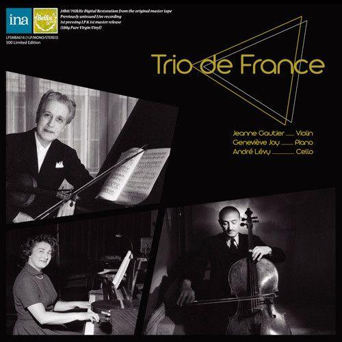 【輸入盤LPレコード】Trio De France / Faure & Ravel Trios【LP2017/9/15発売】