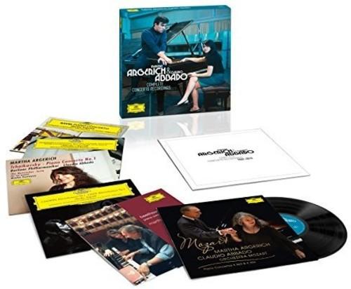 【送料無料】Argerich/Abbado / Complete Concerto Recordings (Limited Edition)【輸入盤LPレコード】