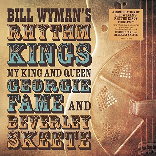 【輸入盤LPレコード】Bill Wyman/Rhythm Kings / My King & Queen: Georgie Fame & Beverley Skeete【LP2017/11/24発売】(ビル・ワイマン)