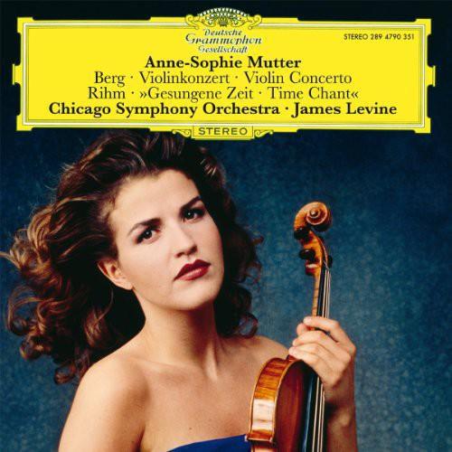 【輸入盤LPレコード】Anne-Sophie Mutter / Violin Concert/Gesungene (ドイツ盤)