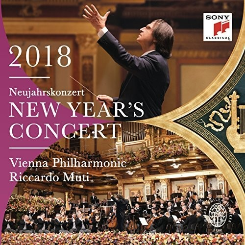 【送料無料】Riccardo Muti/Wiener Philharmoniker / New Year's Concert 2018 (アジア盤)【輸入盤LPレコード】【LP2018/3/2発売】(リッカルド・ムーティ&ウィーン・フィル)