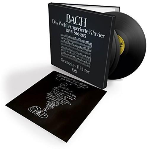 【輸入盤LPレコード】Bach/Sviatoslav Richter / Bach: Das Wohltemperierte Klavier (Box) (ドイツ盤)【LP2016/11/18発売】