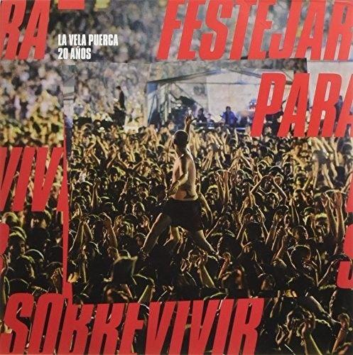 【輸入盤LPレコード】La Vela Puerca / 20 Anos Festejar Para Sobrevivir (アルゼンチン盤)