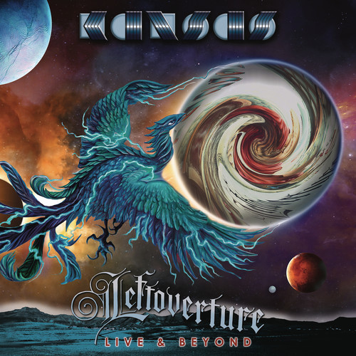 【送料無料】Kansas / Leftoverture Live & Beyond (w/CD) (Blue) (Colored Vinyl)【輸入盤LPレコード】【LP2018/1/5発売】(カンサス)