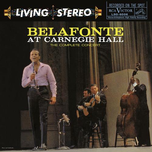 【輸入盤LPレコード】Harry Belafonte / Belafonte At Carnegie Hall (45RPM) (200gram Vinyl)【LP2017/12/15発売】(ハリー・ベラフォンテ)