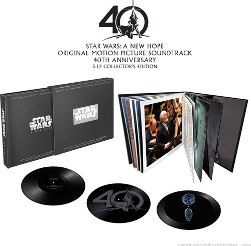【輸入盤LPレコード】John Williams (Soundtrack) / Star Wars: A New Hope (Limited Edition) (Box)【LP2017/12/1発売】(ジョン・ウィリアムス)
