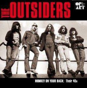 【送料無料】Outsiders / Monkey On Your Back-45's All Remastered Recordings【輸入盤LPレコード】(アウトサイダーズ)