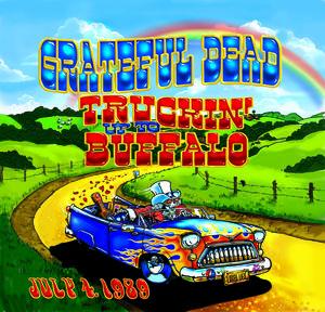 【送料無料】Grateful Dead / Truckin Up To Buffalo: July 4 1989【輸入盤LPレコード】(グレイトフル・デッド)
