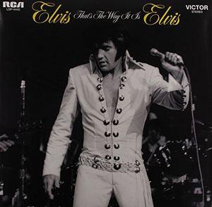 【送料無料】Elvis Presley / That's The Way It Is (オランダ盤)【輸入盤LPレコード】(エルヴィス・プレスリー)