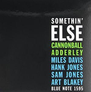 【送料無料】Cannonball Adderley / Somethin Else (180 Gram Vinyl)【輸入盤LPレコード】(キャノンボール・アダレー)