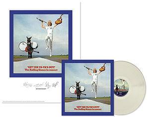 【送料無料】Rolling Stones / Rolling Stones: Get Yer Ya-Ya's Out (Lithograph)【輸入盤LPレコード】(ローリング・ストーンズ)
