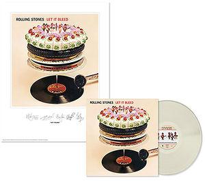 【送料無料】Rolling Stones / Rolling Stones: Let It Bleed (Lithograph) (Clear Vinyl)【輸入盤LPレコード】(ローリング・ストーンズ)