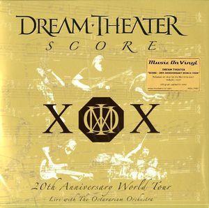 【送料無料】Dream Theater / Score 20th Anniversary World Tour (オランダ盤)【輸入盤LPレコード】(ドリーム・シアター)