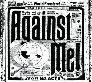 【送料無料】Against Me / 23 Live Sex Acts (UK盤)【輸入盤LPレコード】
