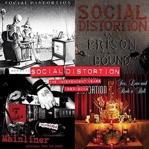 【送料無料】Social Distortion / Independent Years: 1983-2004 (Box)【輸入盤LPレコード】【LP2016/12/2発売】