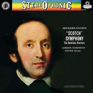 【輸入盤LPレコード】Mendelssohn/Maag/London Sym Orch / Symphony 3 Scotch Symphony (Limited Edition)