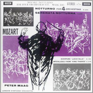 輸入盤LPレコード Mozart MaagNotturno For Four Orchestras180 GramAL54q3jR