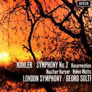 【輸入盤LPレコード】Mahler/Solti / Symphony 2 (180 Gram Vinyl)