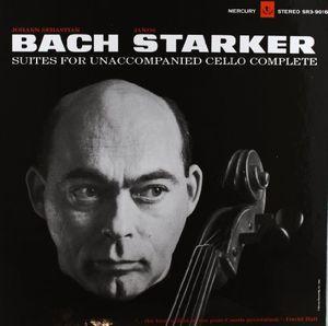 【送料無料】Janos Starker / Bach-6 Solo Cello Suites【輸入盤LPレコード】