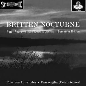 【送料無料】Britten / Nocturne (Gatefold LP Jacket) (Limited Edition) (180 Gram Vinyl)【輸入盤LPレコード】