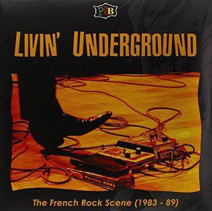 【輸入盤LPレコード】VA / Livin' Underground (オランダ盤)