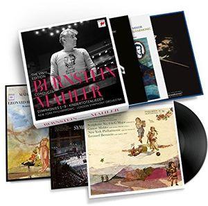 【輸入盤LPレコード】【送料無料】Leonard Bernstein / Conducts Mahler (Box) (UK盤)【LP2017/6/2発売】(レナード・バーンスタイン)