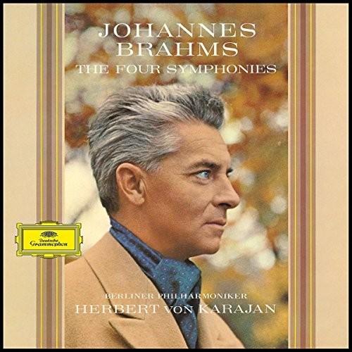 【輸入盤LPレコード】Brahms/Berliner Philharmoniker/Karajan / Four Symphonies (Limited Edition) (180gram Vinyl)【LP2017/8/18発売】