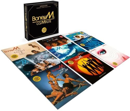 【送料無料】Boney M / Complete (Box) (UK盤)【輸入盤LPレコード】【LP2017/7/14発売】(ボニーM)