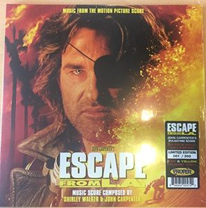 【輸入盤LPレコード】VA / Escape From L.A. Music From Motion Picture Score【LP2017/6/9発売】
