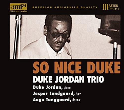 【送料無料】Duke Jordan / So Nice Duke【輸入盤LPレコード】【LP2017/8/18発売】(デューク・ジョーダン)