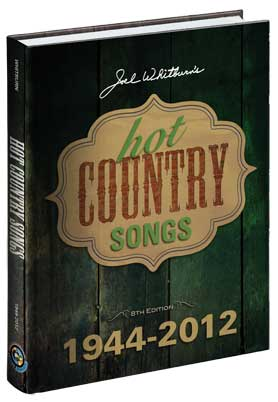 【ヒットチャート関連書籍】【送料無料】HOT COUNTRY SONGS 1944-2012 (HARDCOVER)