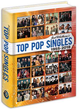 【ヒットチャート関連書籍】TOP POP SINGLES 1955-2018 (Hardcover)
