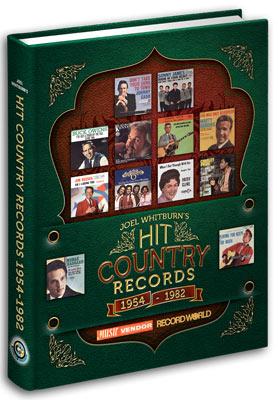 【ヒットチャート関連書籍】【送料無料】Hit Country Records 1954-1982 (HARDCOVER)