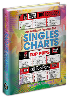 【ヒットチャート関連書籍】【送料無料】Record World Singles Charts 1964-1972 (Hardcover)