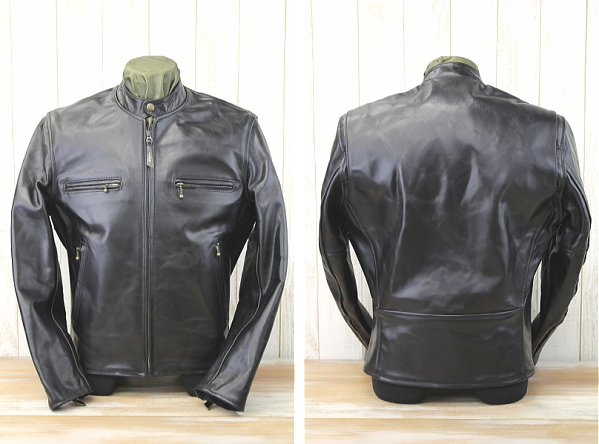 AERO LEATHER (エアロレザー) CAFE RACER Cafe racer ALC-002 / black