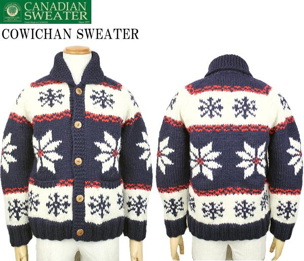 CANADIAN SWEATER カナディアンセーター Cowichan Sweater カウチンセーター カウチンジャケット カーディガン 2057AM 2color