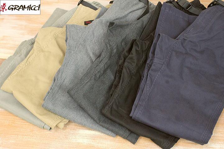 GRAMICCI グラミチ NN-PANTS JUST CUT NNパンツ ジャストカットコットンパンツ クライミングパンツ メンズ 8817-FDJ 6colors